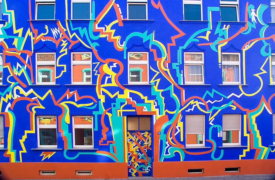 Kein Grafitti....