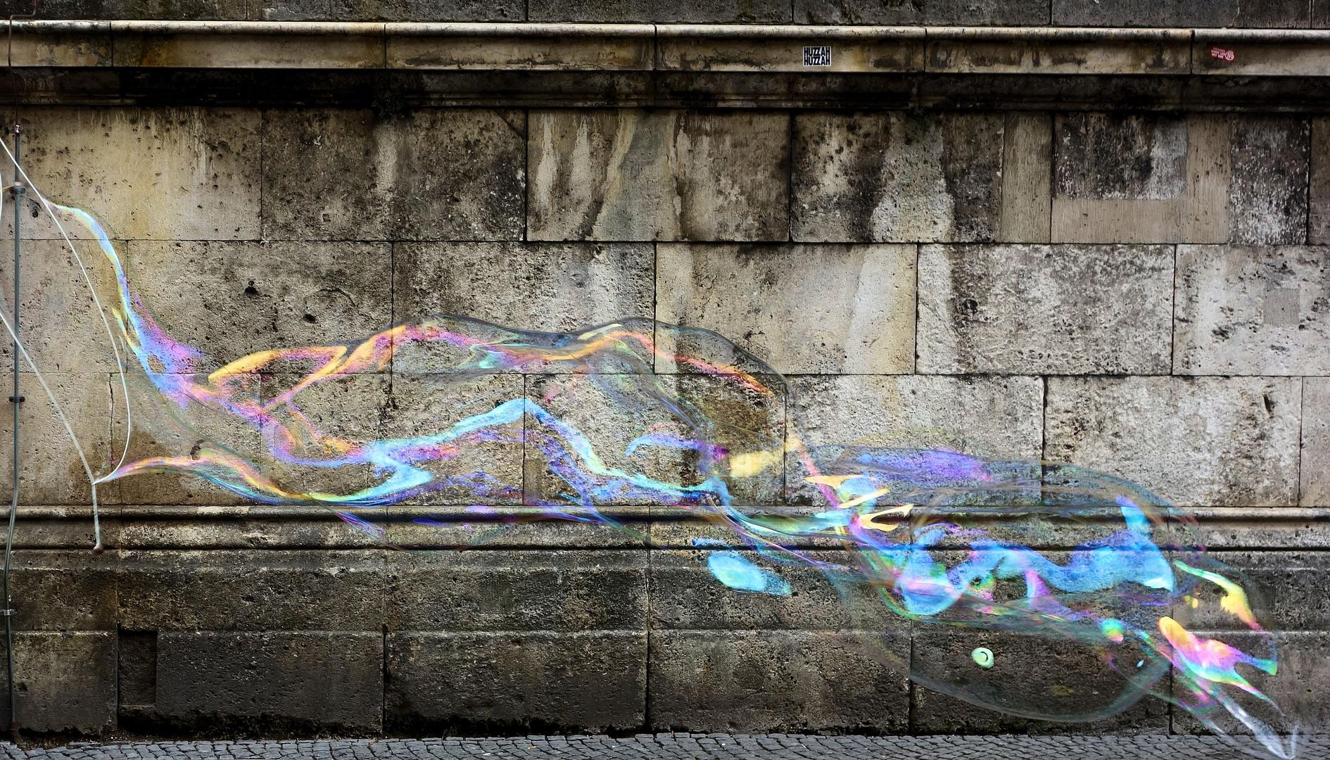 kein normales graffiti!