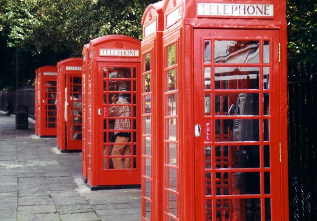Keine Handys in London?