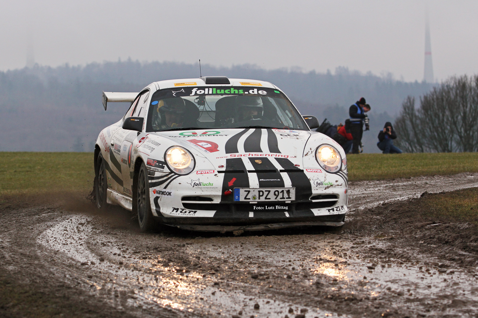 Keine idealen Bedingungen für Porsche ...