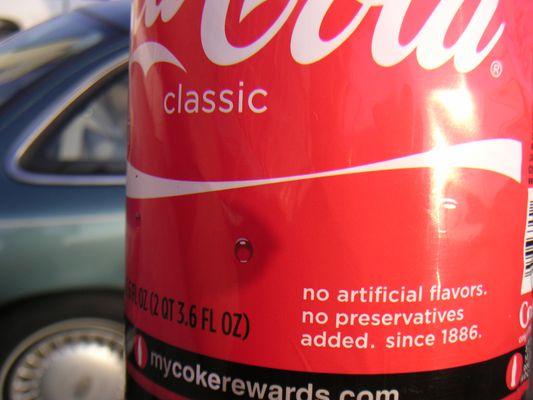 Keine Präservative in der Cola