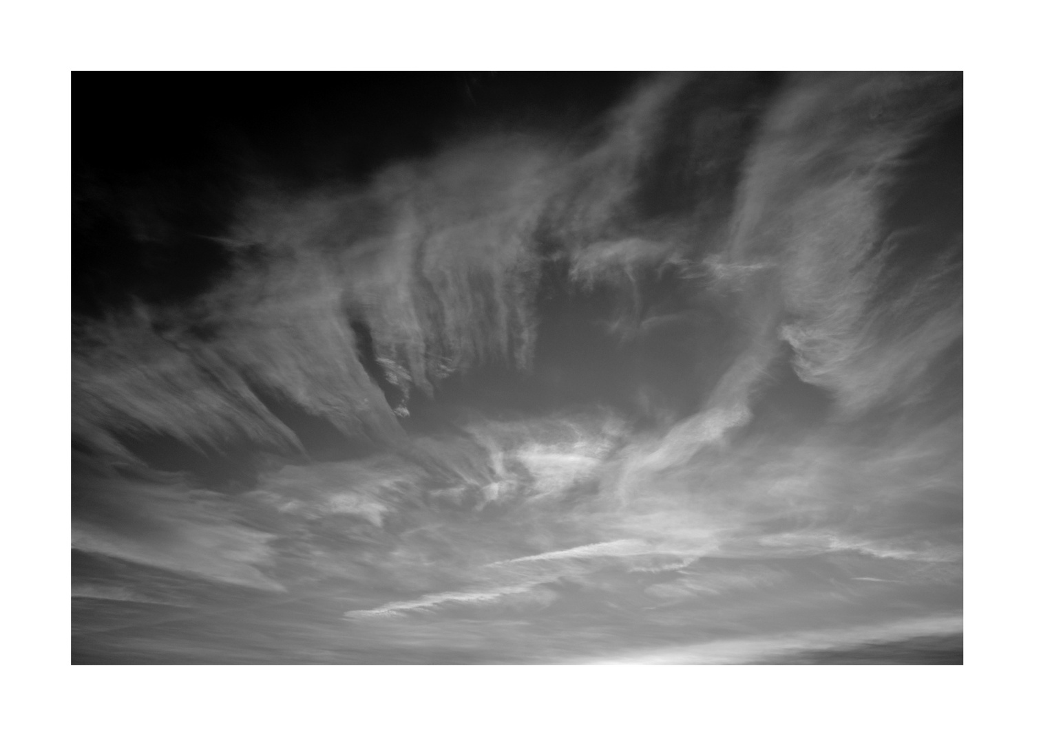 Keine radioaktive Wolke mehr.....