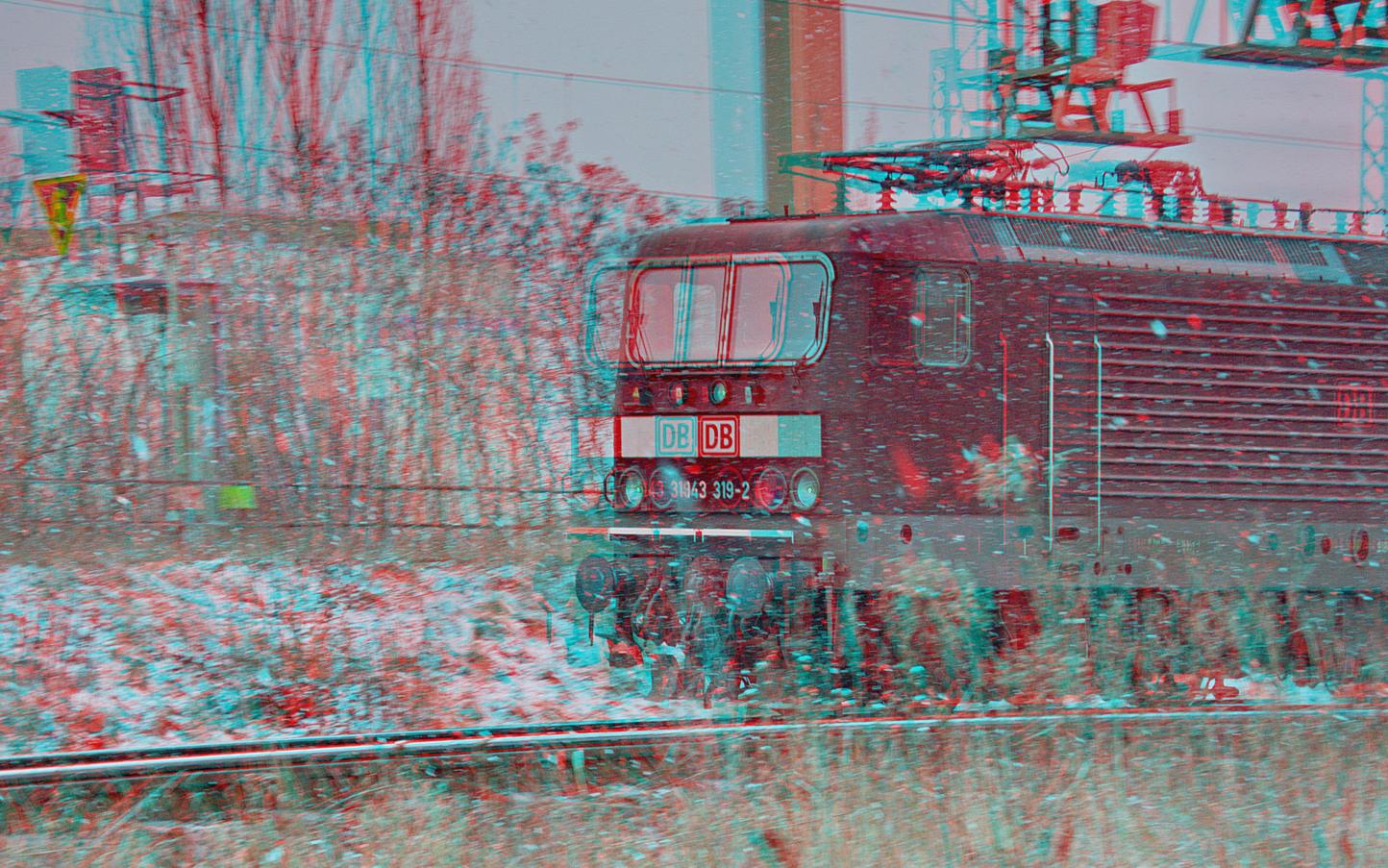 Keine Winterfreude (3D-Foto)