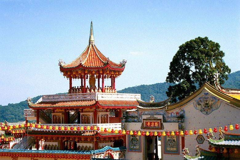 Kek Lok Si Tempel -Teilansicht