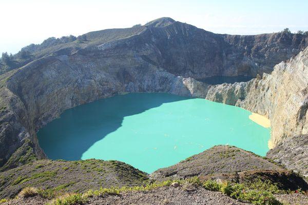 Kelimutu-See in Ost-Indonesien