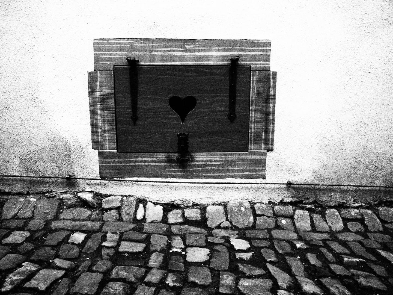 ... Keller mit Herz ....