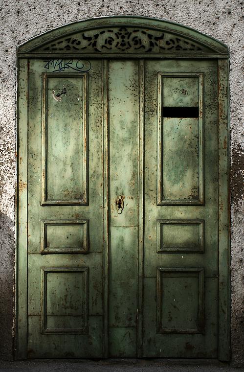 Kellerwerkstatt-Tür