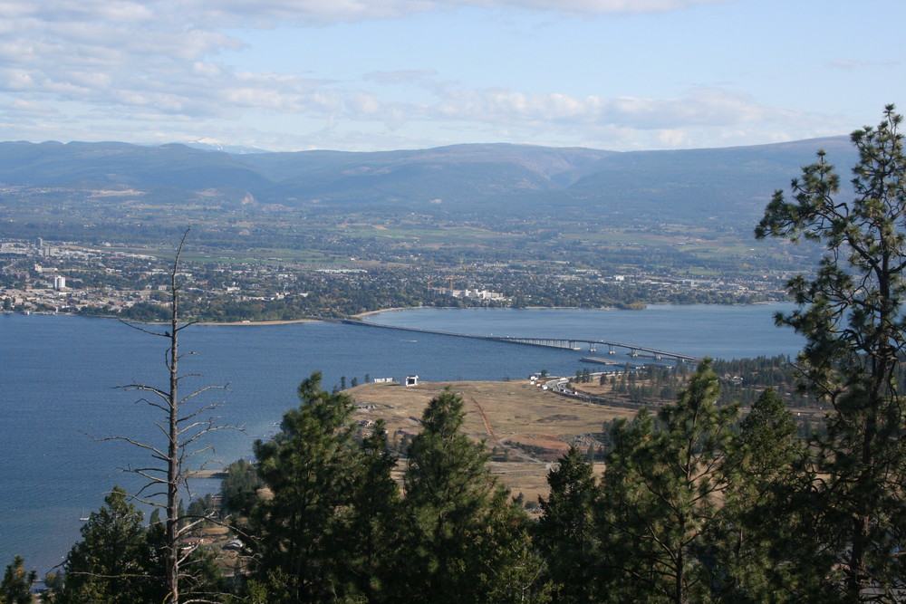 Kelowna from the Top
