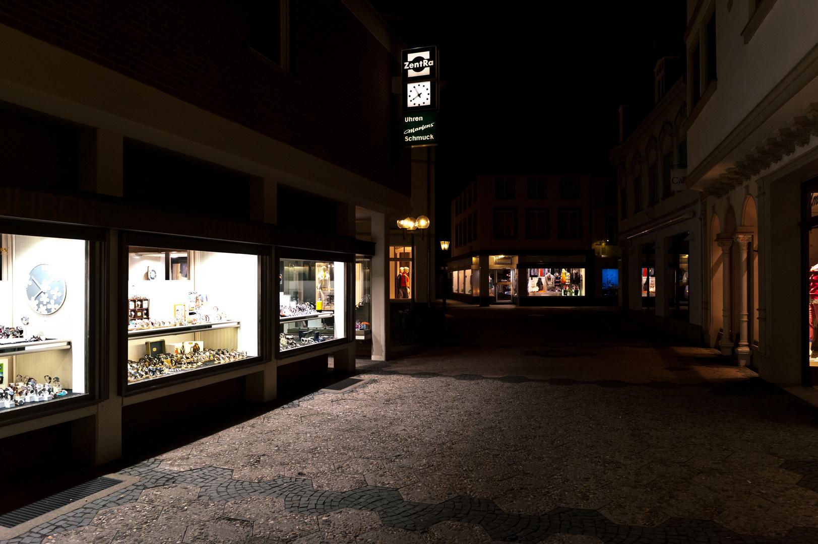 Kempen bei Nacht