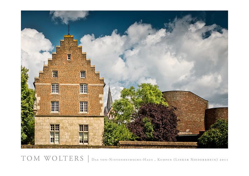 Kempen Poster | Das von-Nievenheimsche-Haus , Kempen (Linker Niederrhein) 2011