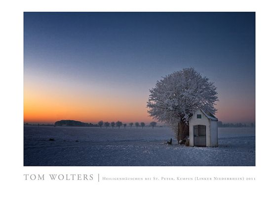Kempen Poster | Heiligenhäuschen bei St. Peter, Kempen (Linker Niederrhein) 2011