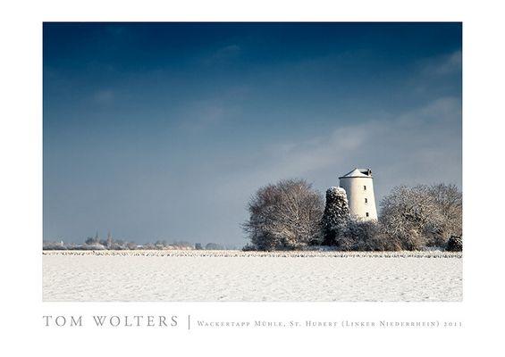 Kempen Poster | Wackertapp Mühle, St. Hubert (Linker Niederrhein) 2011