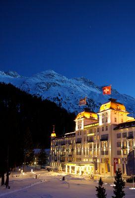 Kempinski Grand Hotel des Bains, St. Moritz - Switzerland