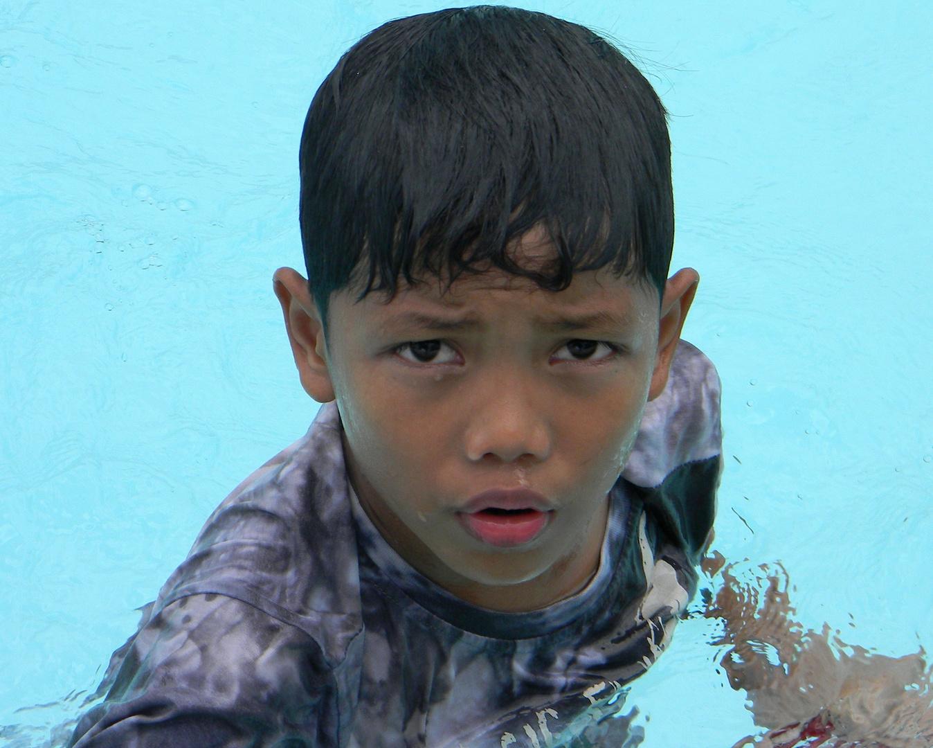 Ken - ein philippinischer Junge