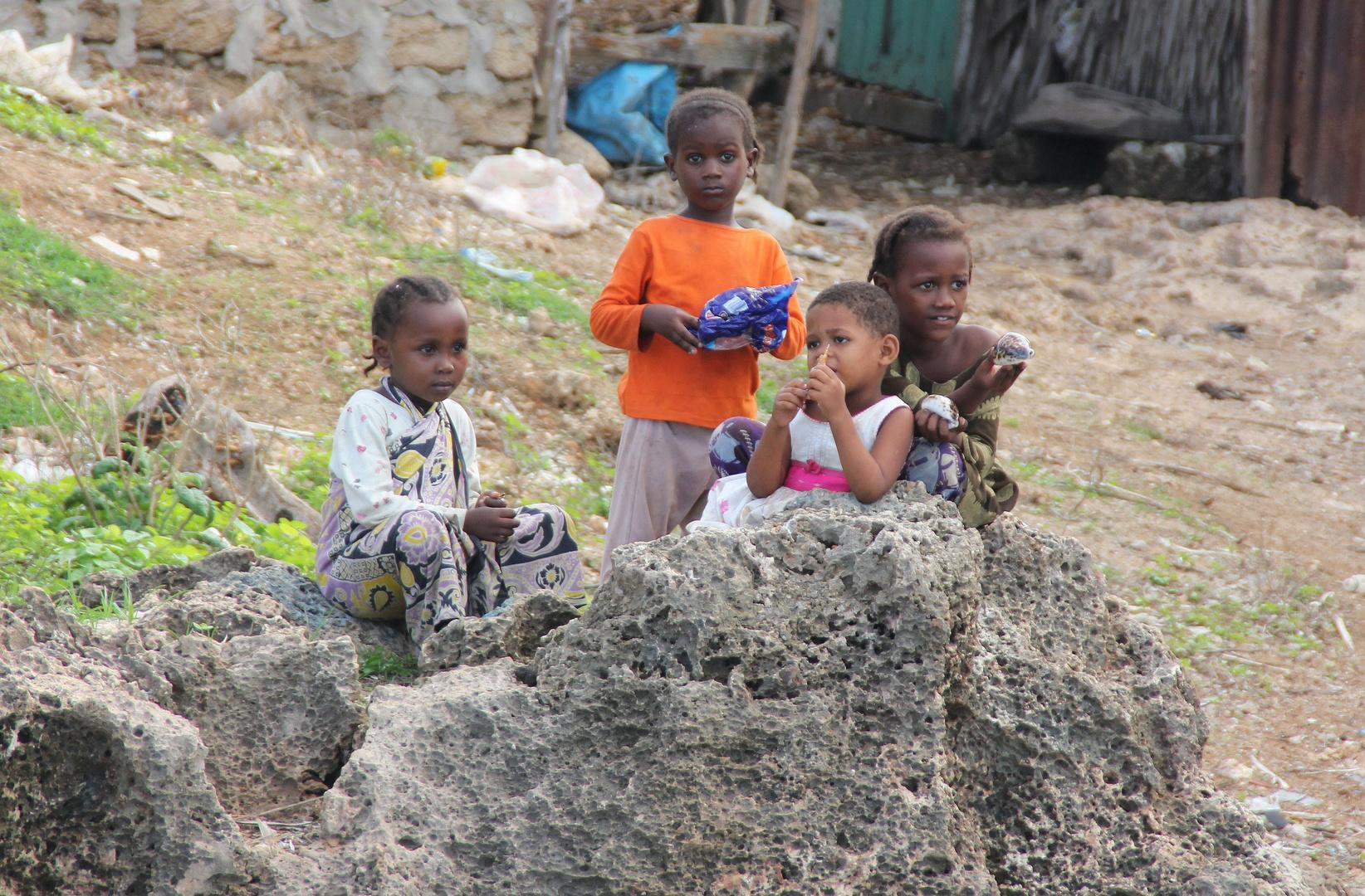 Kenia - Eine Tüte Bonbon