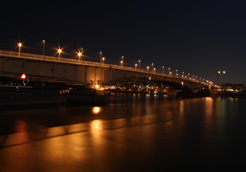 Kennedy Brücke - Langzeitaufnahme