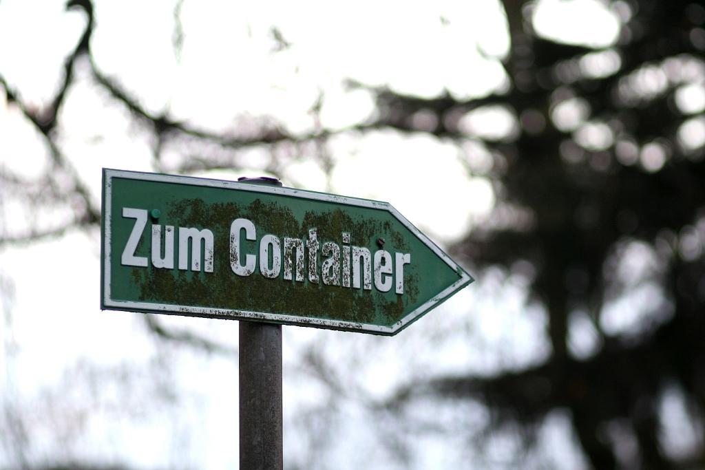 Kennen Sie schon den Witz vom Container?