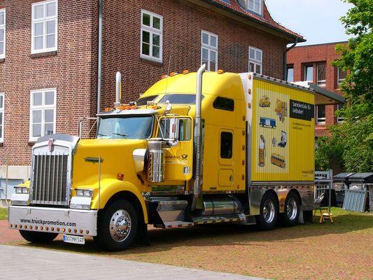 Kenworth Truck der Deutschen Post AG