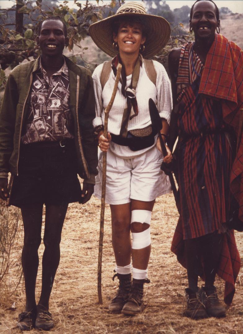 kenya:le trio de la brousse