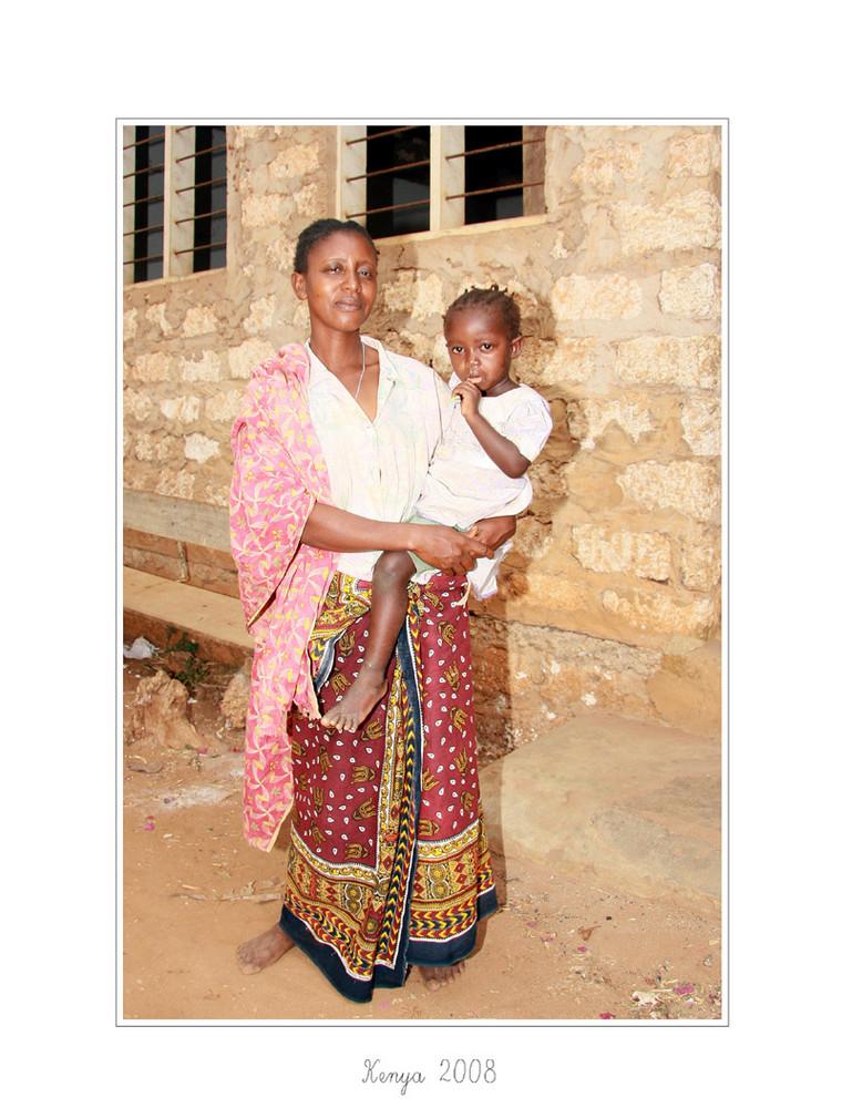 Kenyanische Frau