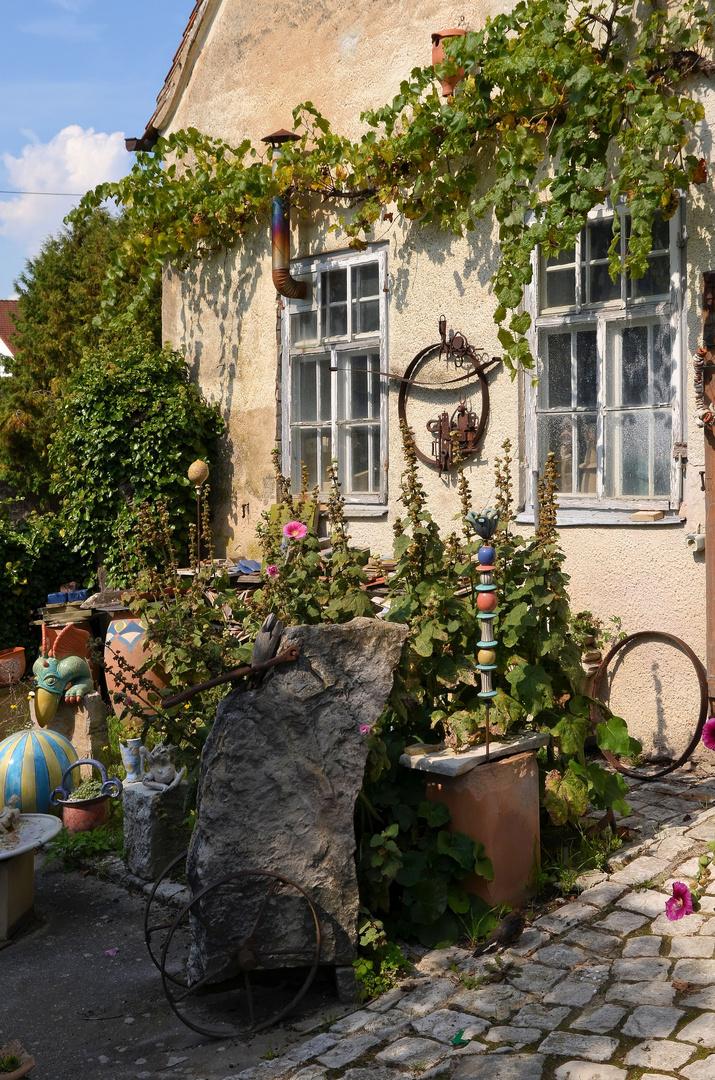 Keramik am Rennering, Wemding, September 2014
