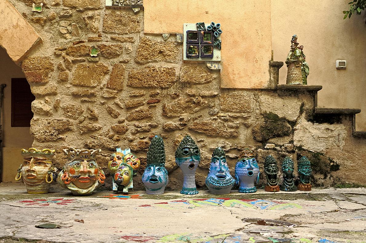 Keramik aus Sciacca / Ceramiche di Sciacca (4)