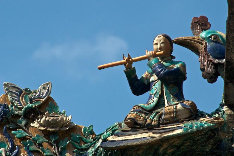 Keramikfiguren in der Thien-Hau-Pagode (3)