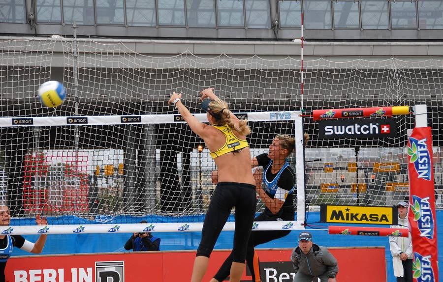 Kerri Walsh in Action