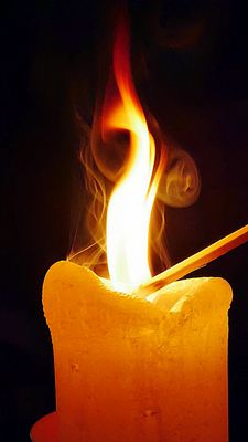 Kerze 52