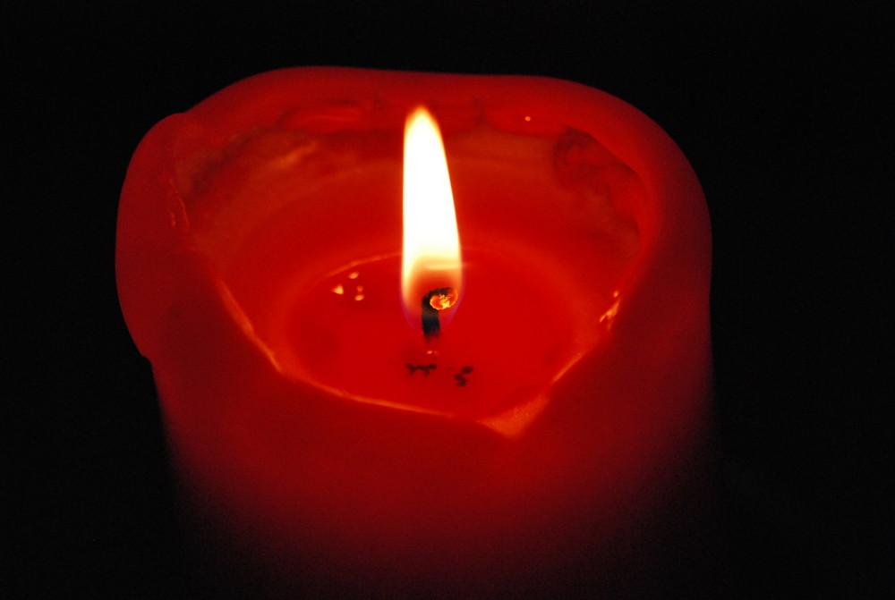 Kerze.