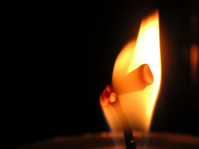 Kerze ...