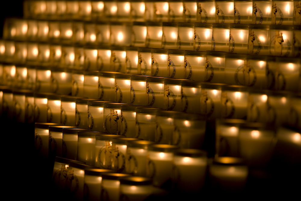Kerzen im Notre Dame