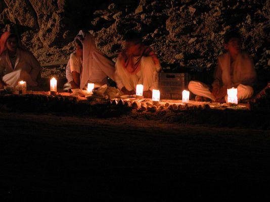Kerzen im Sinai