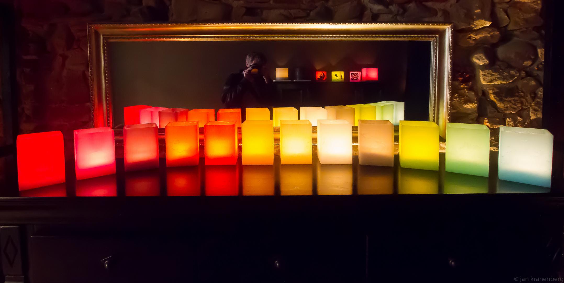 Kerzen in einem Geschäft