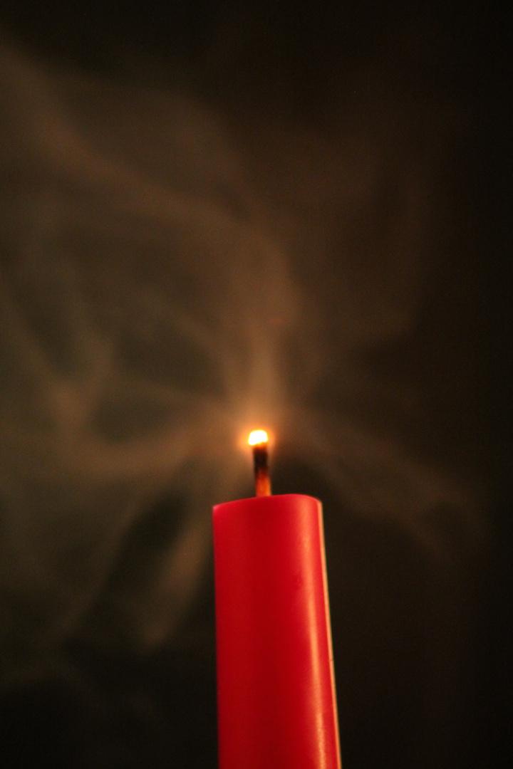 Kerzen-Untergang