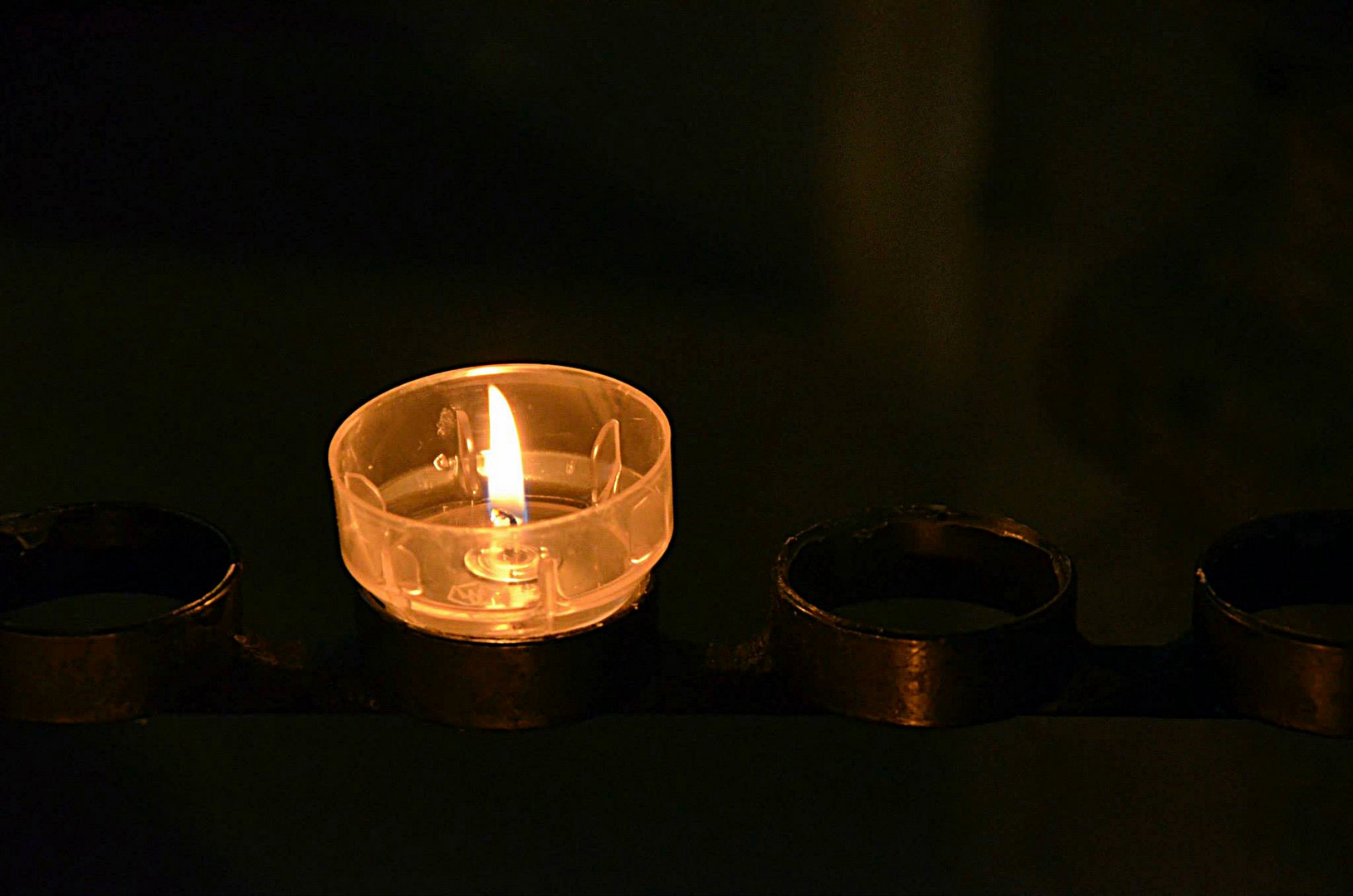 Kerzenflamme - Kölner Dom