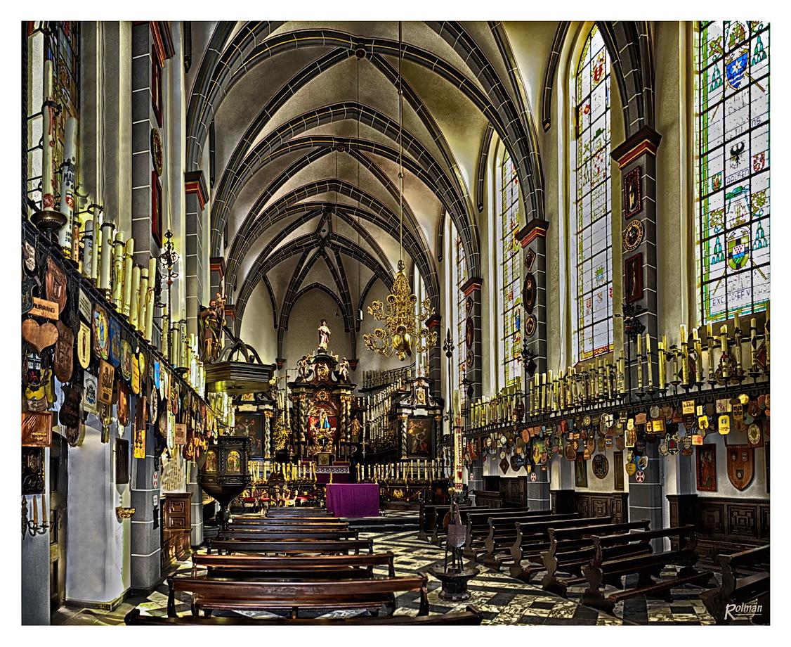 Kerzenkapelle im Wallfahrtsort Kevelaer am Niederrhein