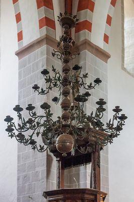 Kerzenleuchter Klosterkirche Zinna