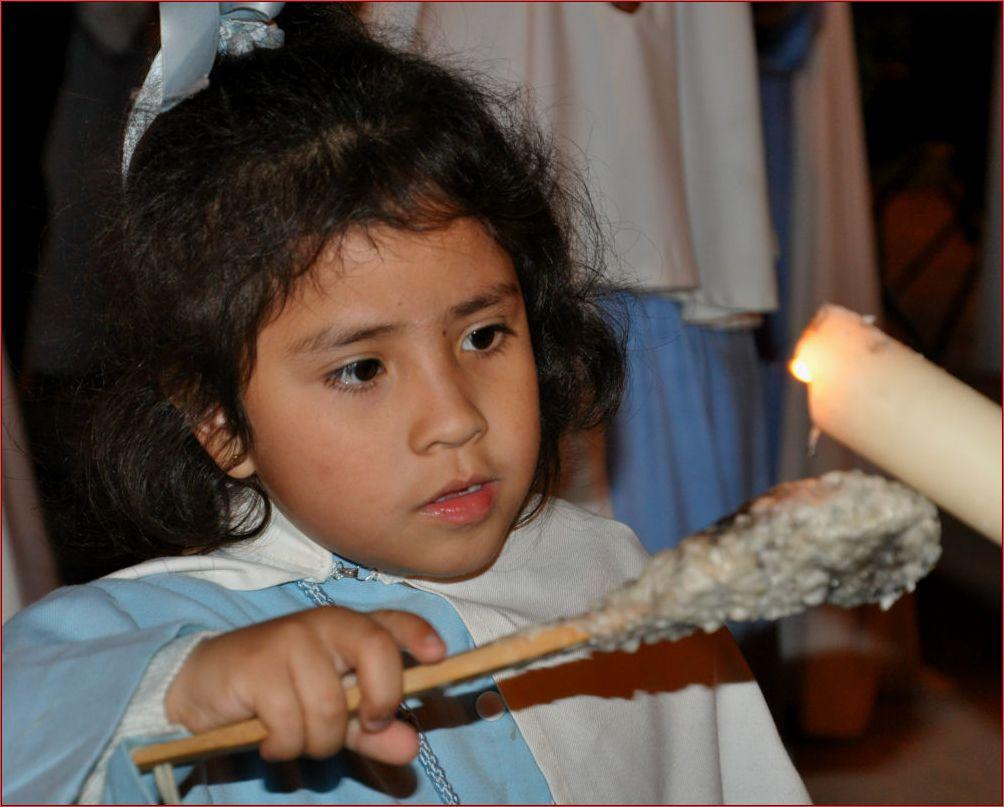 Kerzenpflegerin