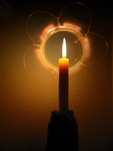 ....Kerzenschein...