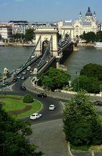 Kettenbrücke mit Dom