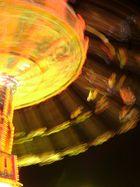 Kettenkarussel bei Nacht