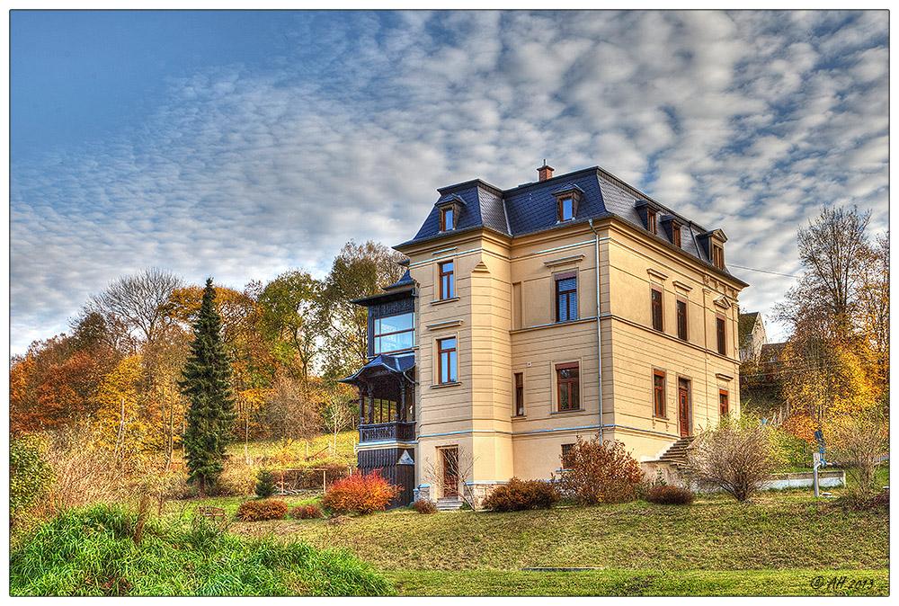 Ketzels Villa im neuen Glanz