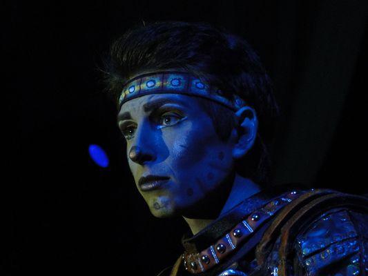 Kevin Köhler als Rusty aus dem Musical Starlight Express