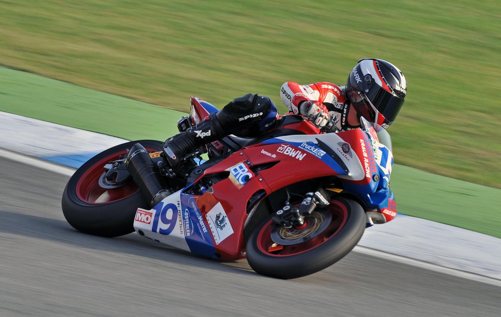 Kevin Wahr - Yamaha R6 - IDM Hockenheim 2013