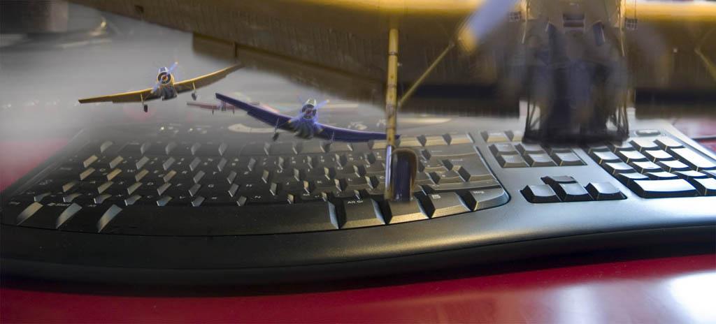 keyboard piloten
