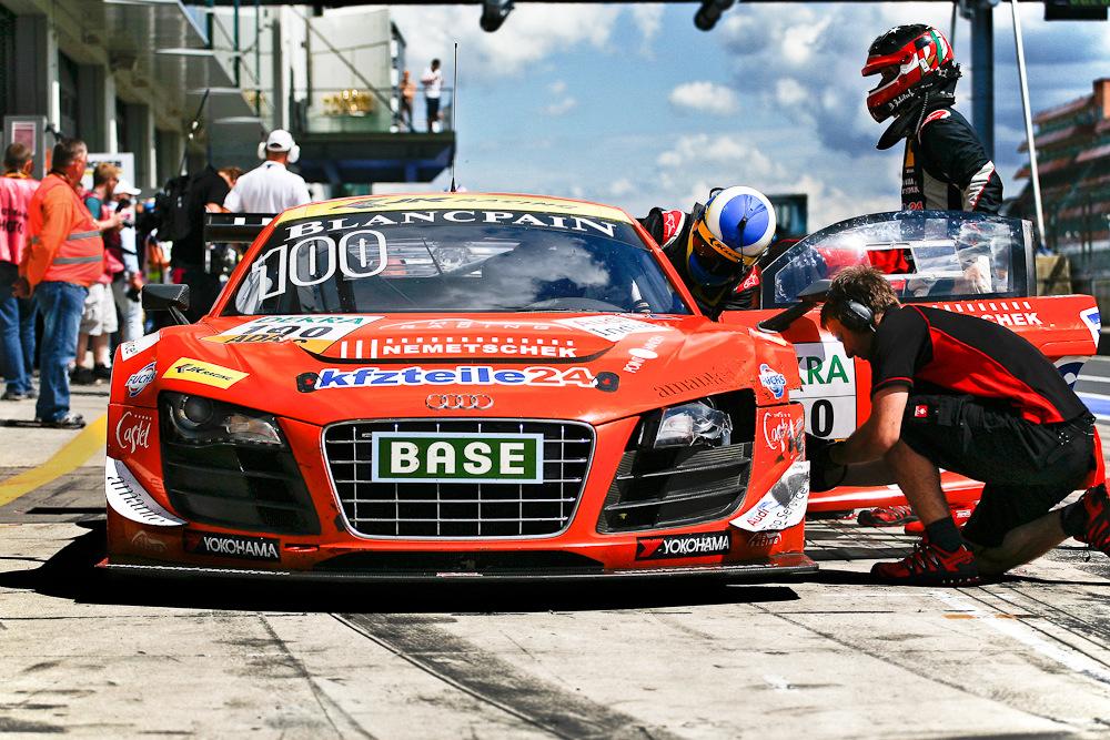 kfzteile24 Audi - Boxenstopp - GT Masters Nürburgring 2013