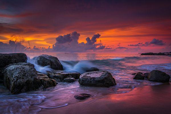 Khao Lak Beach - SUNDOWN