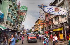 Khao San Road..