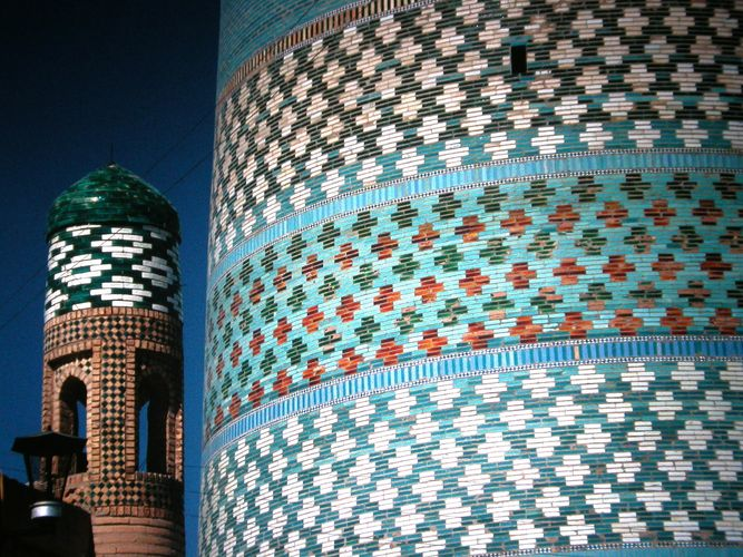Khiva, Uzbekistan (Kalta Minor Minarett)